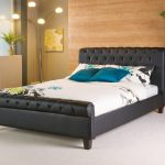 Phoenix leather bed In Black or White King size £1099.00 Superking £1199.00