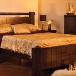 Wooden frame waterbed King size £1199.00